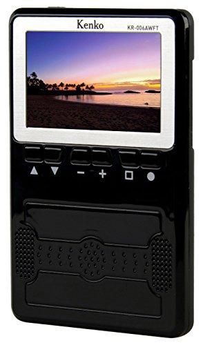 Kenko 携帯テレビ ワンセグTV/AM・FMラジオ KR-006AWFT 3インチ液晶 FM/AM/ワイドFM対応 ACアダプタ/乾電池使用