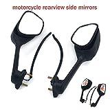 Motorrad Rückspiegel, integrierter Blinkerspiegel für Suzuki GSXR1000 GSXR 1000 2009–2016...