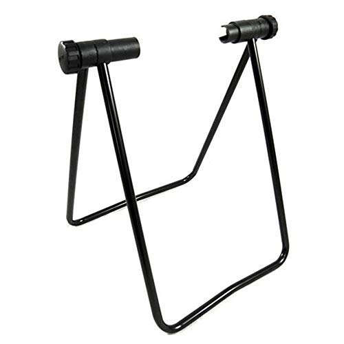 GENFALIN Mountain Bike Quick Release Repair Stand Bicycle Maintenance Rack Adjustable Kickstand Foldable Bicycle Accessories Bicycle Parts