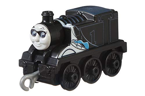 Thomas and Friends GFF08 Track Master Push Along Metall Special Edition Secret Agent Thomas Zugmotor