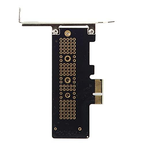 NFHK Tarjeta adaptador PCI-E 3.0 x1 carril a M.2 NGFF M-Key SSD Nvme AHCI PCI Express de perfil bajo