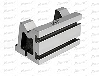 QUALITY PRECISION GRADED CASTE IRON VEE ANGLE PLATES-STRESS RELIEVED - WORK-HOLDING CLAMPING MILLING ENGINEERING MACHINE TOOLS-HEAVY DUTY (3