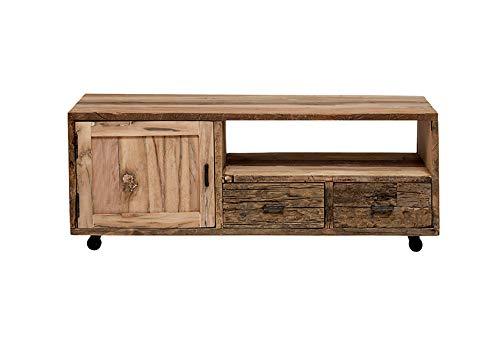 【ジャーナルスタンダード ファニチャー正規品】 journal standard Furniture テレビ台 ブラウン W122×D45×H480 cm BREDA TV BOARD