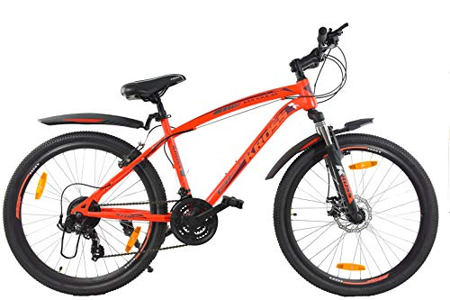 Kross Maximus Pro 26 Inches 21 Speed Bike for Adults Orange
