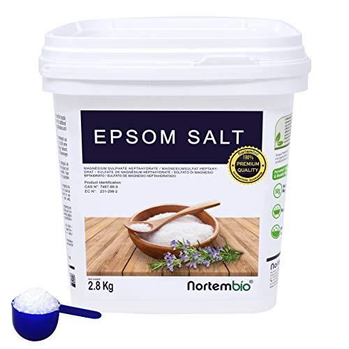 NortemBio Sal de Epsom 2,8 Kg. Fuente Concentrada de