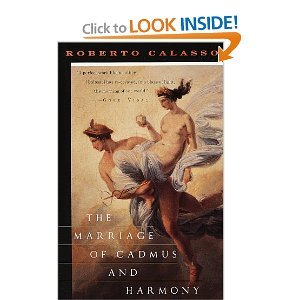Hardcover The Marriage of Cadmus and Harmony Book