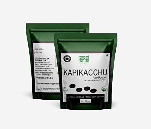 Mucuna Pruriens Powder 16 Ounces (1 Pound) - USDA Certified Organic