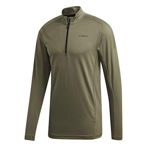 Adidas Tracero 1/2 LS shirt met lange mouwen voor heren, legging, M