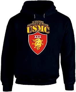 2XLARGE - Usmc - Iii Marine Amphibious Force - Maf Hoodie - Navy