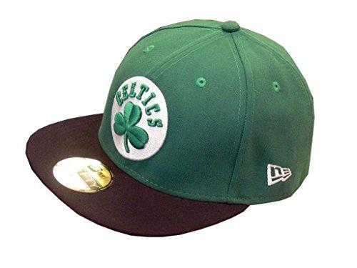 New Era NBA Basic Boston Celtics - Casquette pour Homme, Couleur Vert, Taille 7 5/8