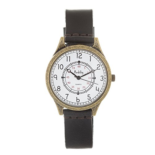 New Reloj de Mujer de Moda G-Style Correa de Cuero Relojes Pulsera (RGC01)