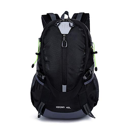 ZHW Hiking Backpack, 40L Super Large Capacity, Ultralight Biking Daypack Sport Bags Gift, Men And Women Camping Multifunction Traveling Waterproof Breathable Backpack