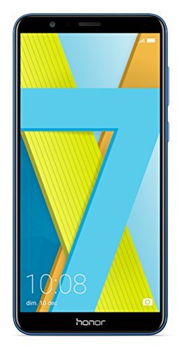 Honor 7X Smartphone (15,06 cm (5,93 Zoll) Display, 64 GB interner Speicher, Android 7.0) Sapphire Blue