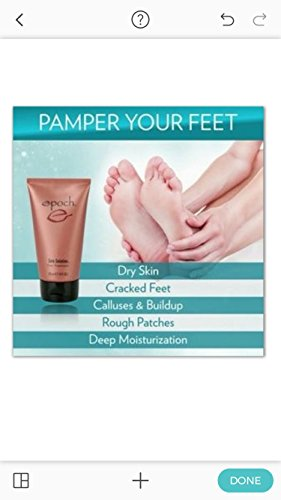 Authentic Nu Skin Nuskin Epoch Sole Solution Foot Treatment 2 Tube