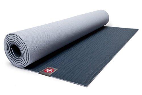 Manduka Eko Lite Fitness-/Yoga-Matte, Blau (Midnight)