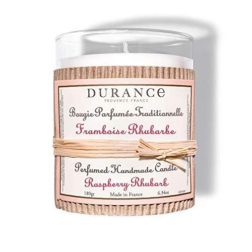 DURANCE - Vela perfumada con aroma a frambuesa