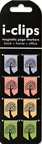 Tree of Life i-clips Magnetic Page Markers (Set of 8 Magnetic...