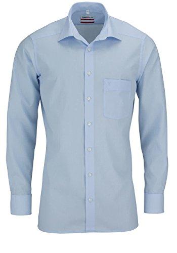 Marvelis Modern Fit Hemd hellblau, Kragenweite:46