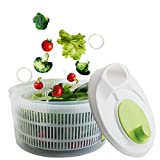 Salad Spinner Vegetable Washer Fruit Veggie Bowl Collapsible Water Container Dryer Set