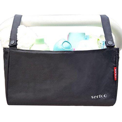 Poussette bébé accessoires, Organisateur, poussette Organisateur Sac [Noir]