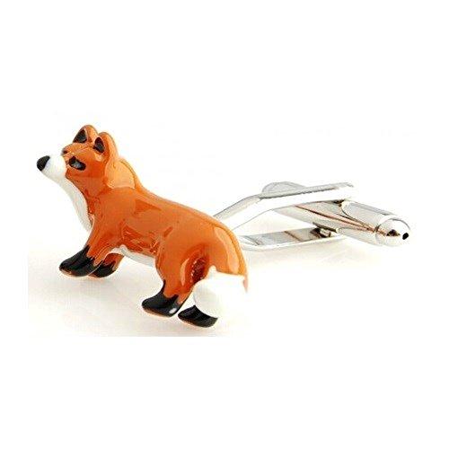 ProCuffs Fox Boutons de Manchette Animal Hunter Galaxy + Boîte et Aspirateur