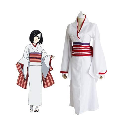 PAOFU-Noragami Anime Cosplay Kostüm Kimono Im Japanischen Stil,Weiß,M
