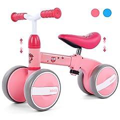 Peradix Kids Balance Balance Wheel Walking Aid In hoogte verstelbare Wheel Slip Wheel Wheel Gift voor eerste verjaardag Nieuwjaar *