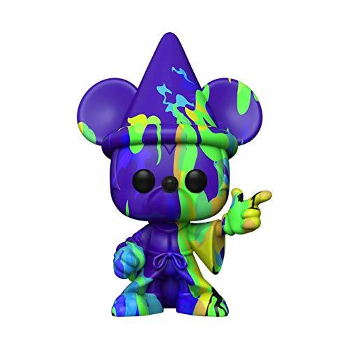 Funko POP Disney: Fantasia 80th-Mickey#2 (Artist Series) w/Case Fantasia Figura da Collezione, Multicolore, 51942