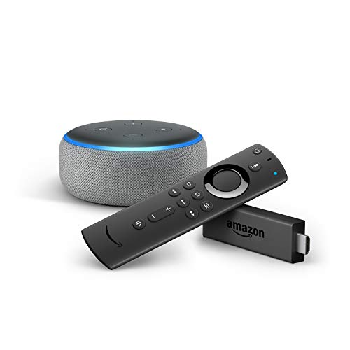 Fire TV Stick con telecomando vocale Alexa + Echo Dot (3ª generazione),...