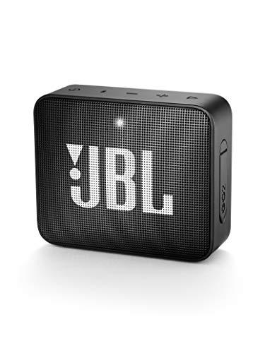 JBL GO 2 Portable Bluetooth Waterproof Speaker - Black (Renewed)