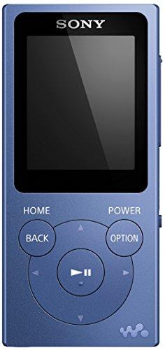 Sony NWE394L.CEW - Reproductor MP3, reproducción de música, foto, radio FM, 8 GB, Azul