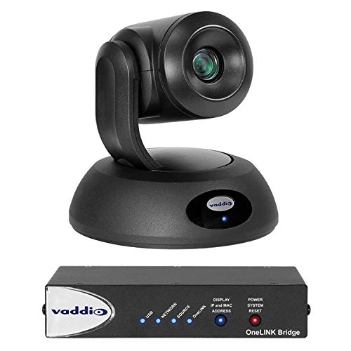 Best Bargain Vaddio RoboSHOT Video Conferencing Camera - 60 fps - Black - 1920 x 1080 Video - Exmor ...