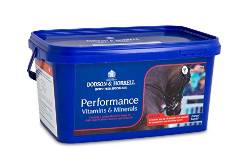 Dodson & Horrell Performance Vitamins And Minerals for Horses, 3.5 kg