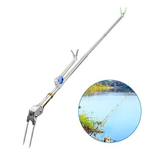 yidenguk Bank Fishing Rod Houder, Afneembare Pole Stand Rack, Verstelbare Extending Rod Rust, River Beach Lake Vissen voor alle stijlen van de hengel.