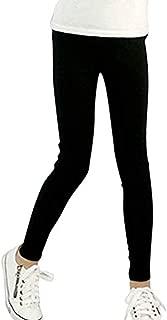 Pandapang Girl Cute Fleece Classic Fit Thicken Trousers Striped Legging