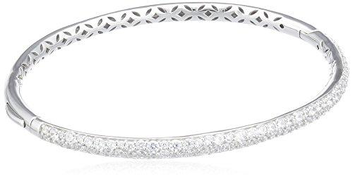 ESPRIT Damen-Armreif 925 Sterling Silber rhodiniert Zirkonia Amalia ELBA91382A600