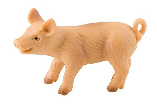 Bullyland 62312 - Spielfigur, Ferkel, ca. 5,5 cm groß, liebevoll handbemalte Figur, PVC-frei, tolles Geschenk für Jungen und Mädchen zum fantasievollen Spielen