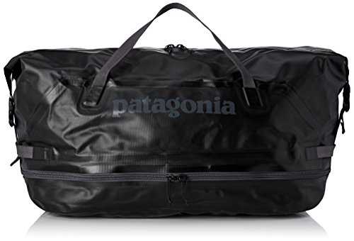 Patagonia Stormfront Wet Dry Duffel  Mochila Unisex Adulto  Negro  Black   36x24x45 cm
