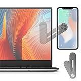 ORYCOOL Supporto Cellulare, Supporto Telefono Laptop, Porta Telefono da Monitor per Computer, Supporto Universale per Telefono, Compatibile con iPhone, Sumsang Galaxy, Huawei, Xiaomi