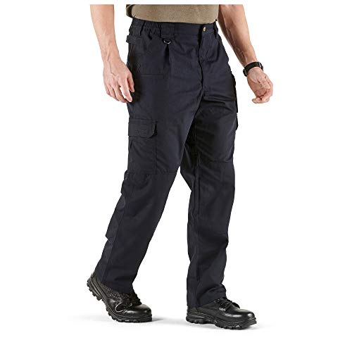 5.11 Men's Taclite Pro Tactical Pants, Style 74273, Dark Navy, 36Wx32L