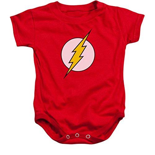 Infant: Flash - Logo Infant Onesie Size 12 Mos