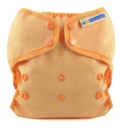 Mother-Ease Duo All-in-Two Cloth Diaper Cover - Orange - M (18-27 lbs)