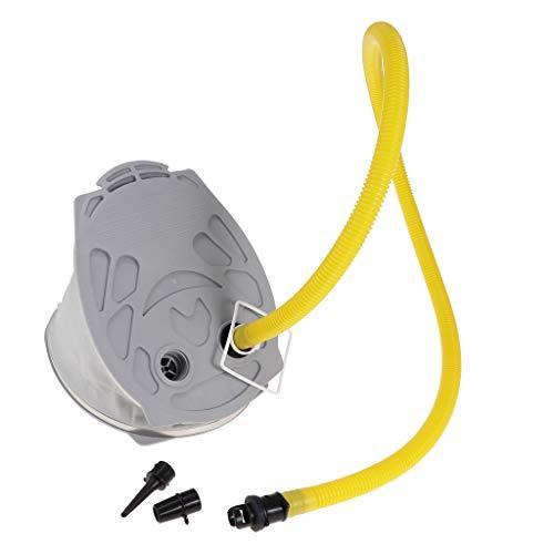 perfeclan Inflador de Bomba de Pie de Aire de Alto Volumen 9L Adaptador de Válvula de Desinflado de Manguera Adaptador