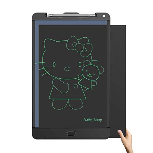 JXSBD Tablero de Dibujo de la Escritura LCD Arte Tableta Digital de 14 Pulgadas aumentó la versión electrónica eWriter refrigerador magnético Mensaje Doodle Pad for Adultos de los niños, con el botón