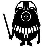Minion Star Wars Darth Vader 6' Black VINYL Car Decal Art Wall Sticker Car USA