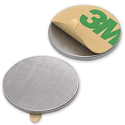 10Imanes neodimio circulares 13x 1mm etiqueta