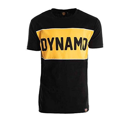 SG Dynamo Dresden T-Shirt Dynamo Piping, Größe:XXL