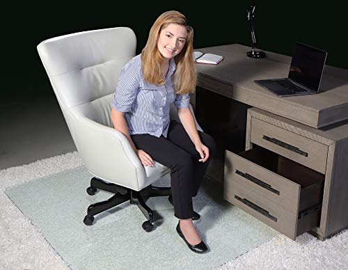 Invisimat Thick Tempered Glass Chair Mat