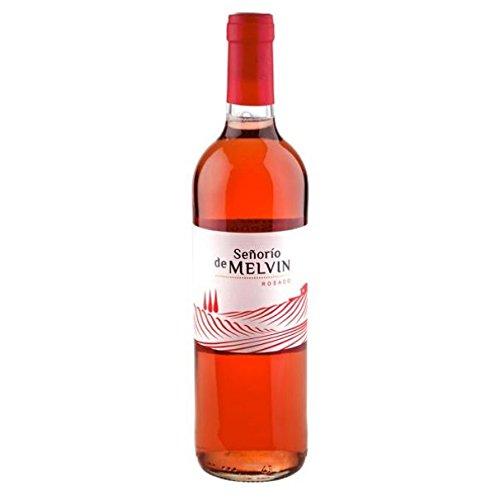 Señorio de Melvin Vino Rosado 11.5º de 11.5º - Paquete de 12 botellas de 75 - Total 900 cl
