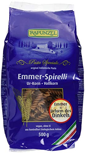 Rapunzel Emmer-Spirelli Vollkorn, 4er Pack (4 x 500 g)